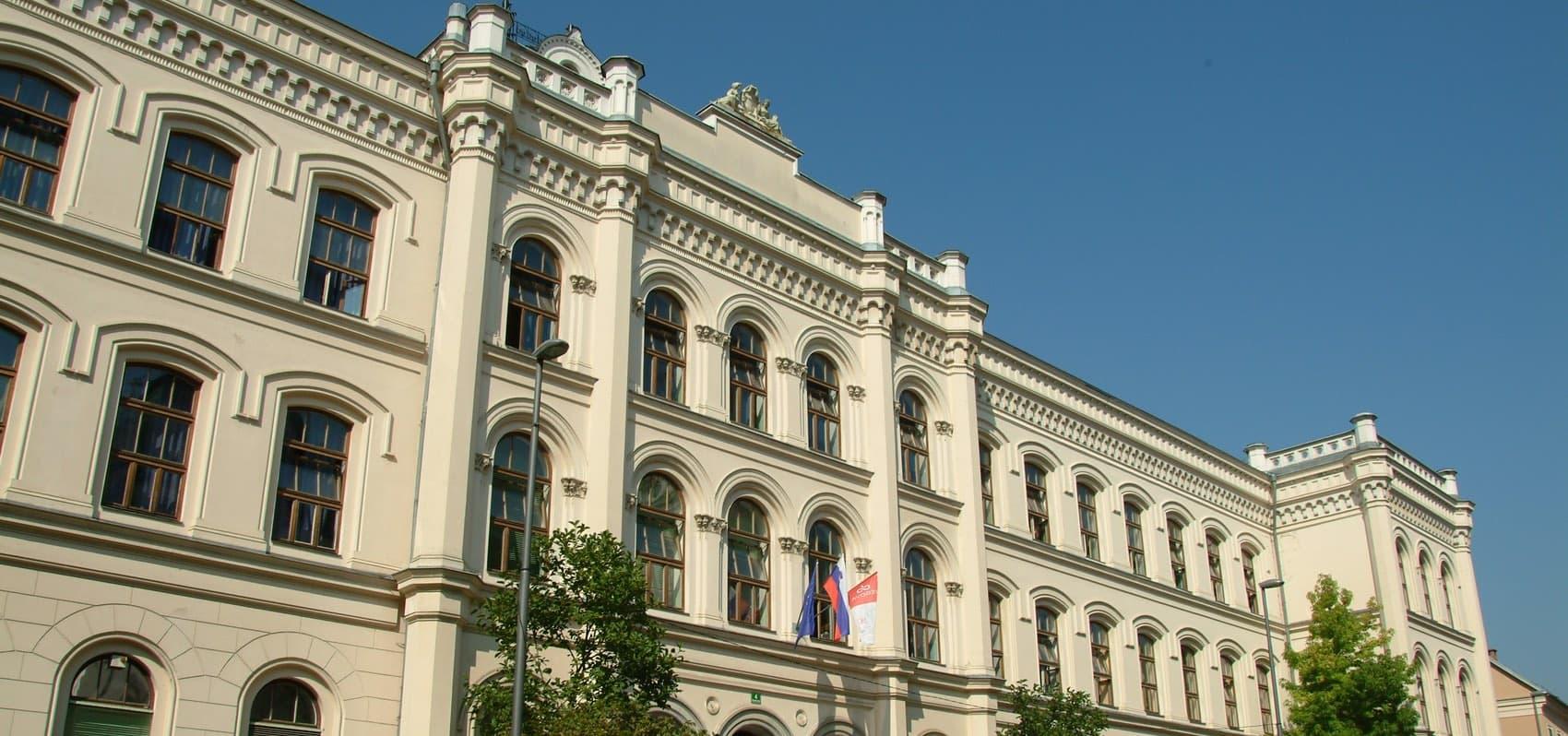 zunanjost zgradbe Vegova Ljubljana