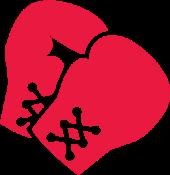 piktogram boksarske rokavice